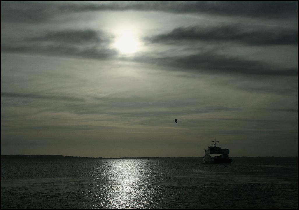 Abendliche Ruhe am Meer