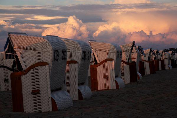 Abendliche Ruhe an der Ostsee
