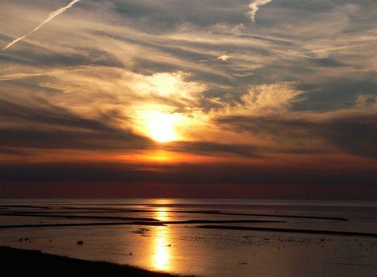 Abendliche Strandimpressionen in Norddeich/Ostfriesland
