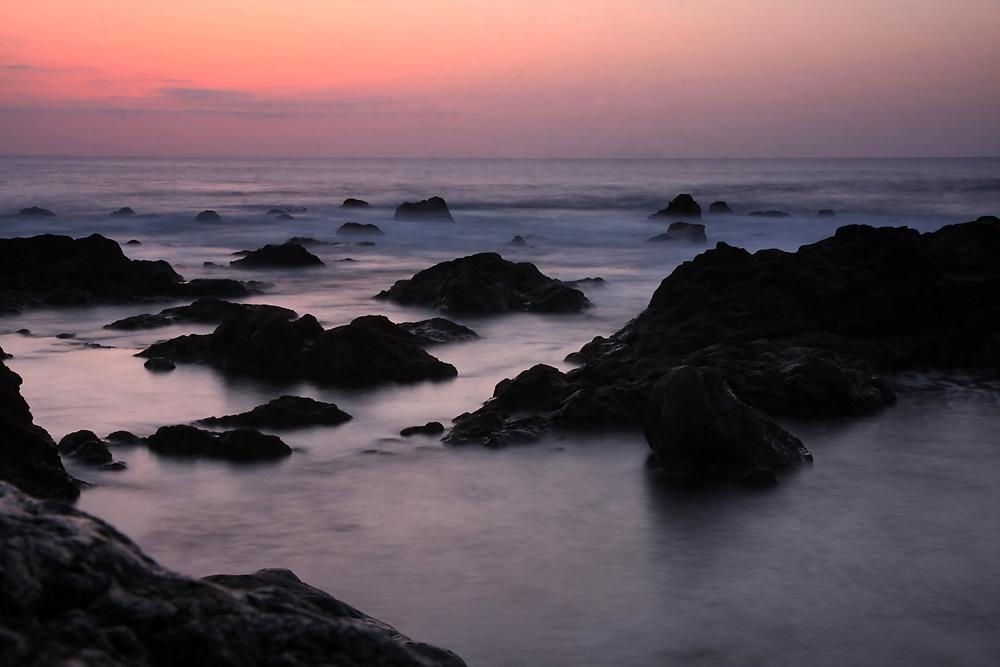 abendlicher Atlantik