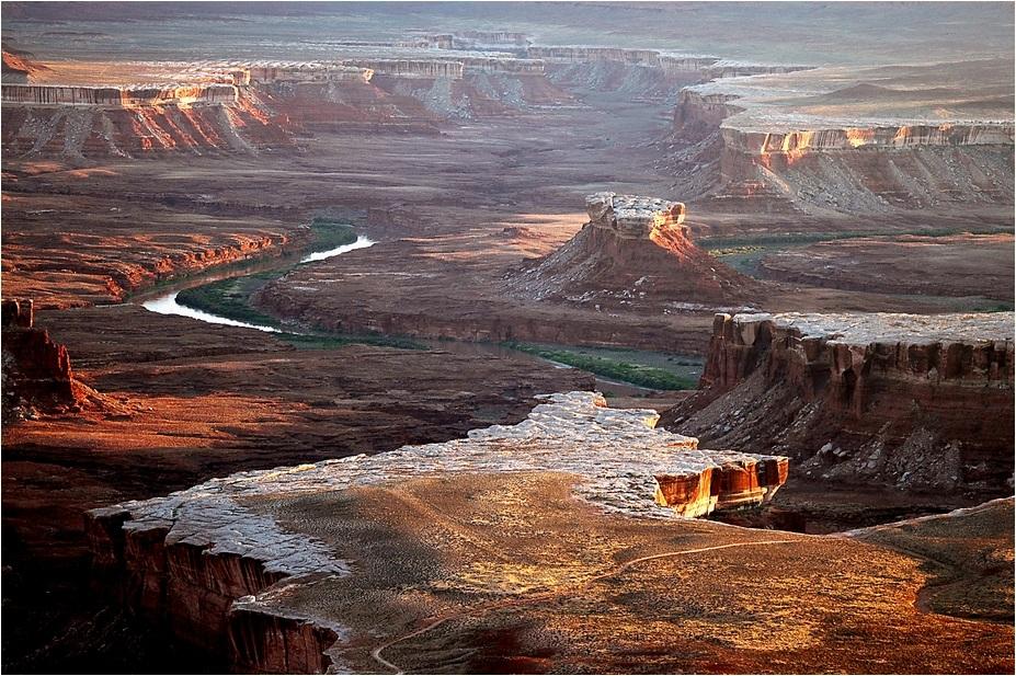 Abendlicher Blick auf Canyonlands