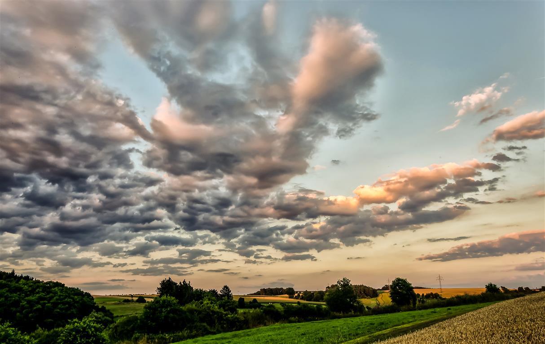 Abendlicher Himmel