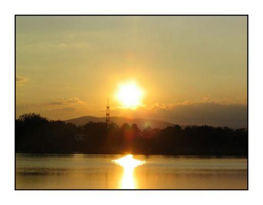 abendlicher Sonnenuntergang!