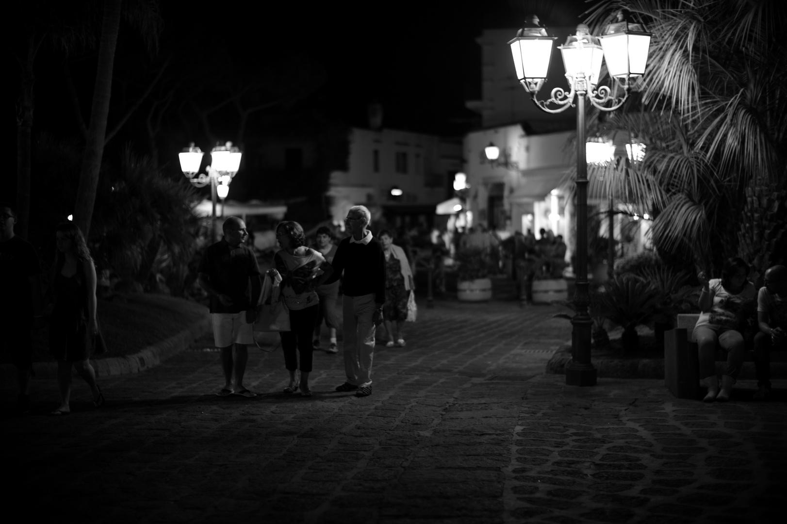 abendlicher Spaziergang
