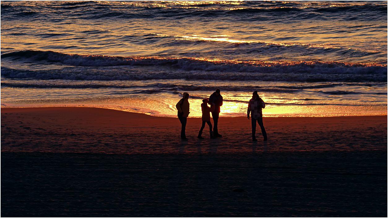 Abendlicher Strandausflug