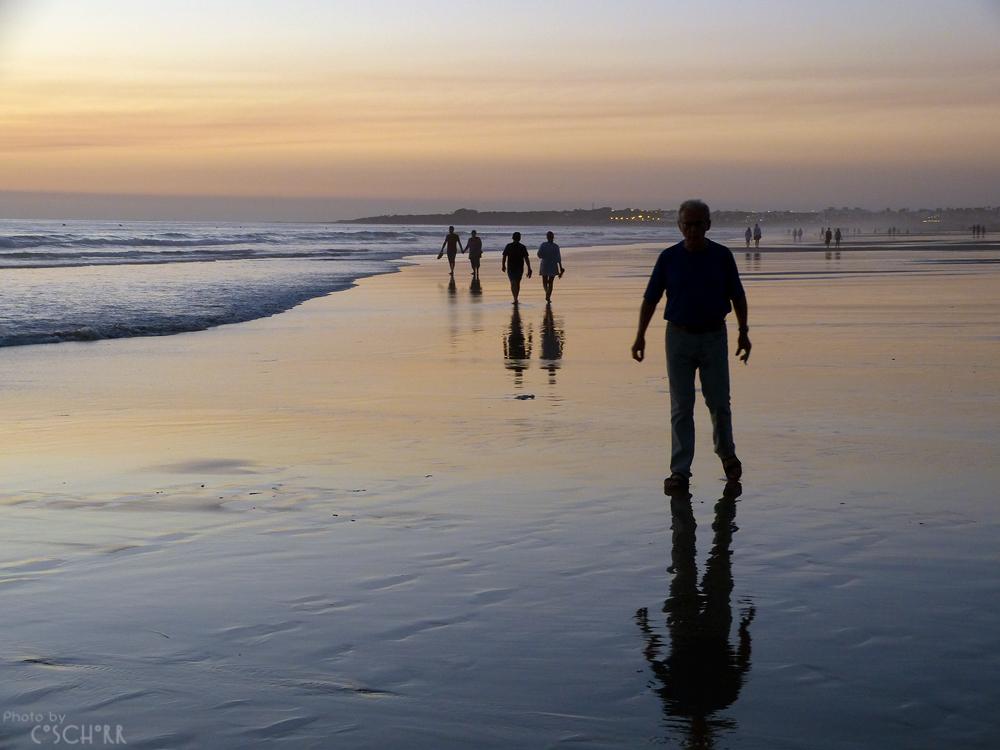 Abendlicher Strandspaziergang