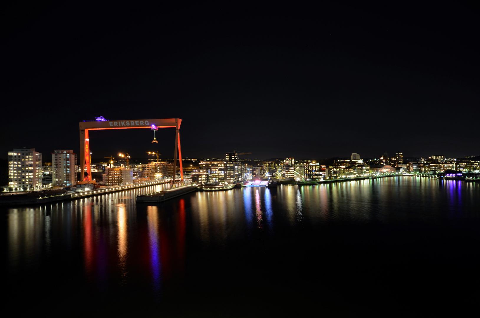 Abendliches Göteborg . . .