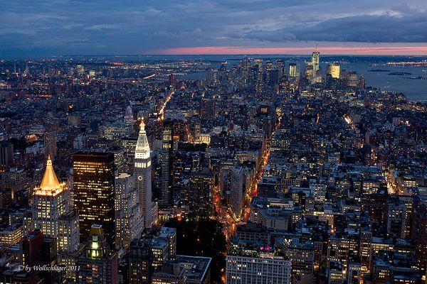 Abendliches NYC