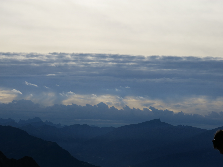 Abendliches Wolkenschauspiel
