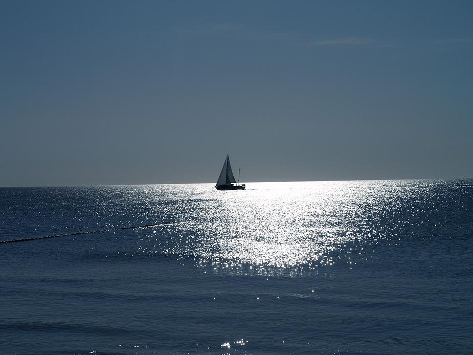 Abendlicht am Meer