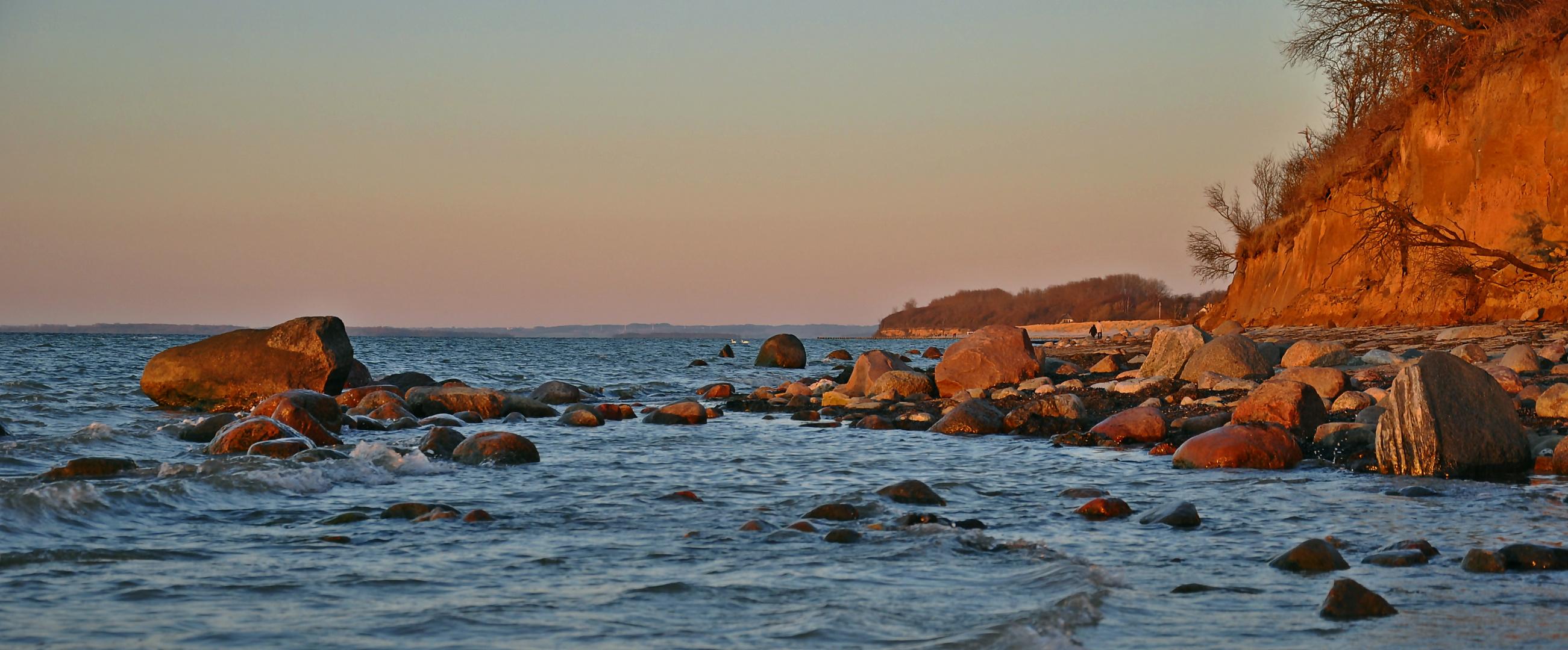 Abendlicht der Ostsee