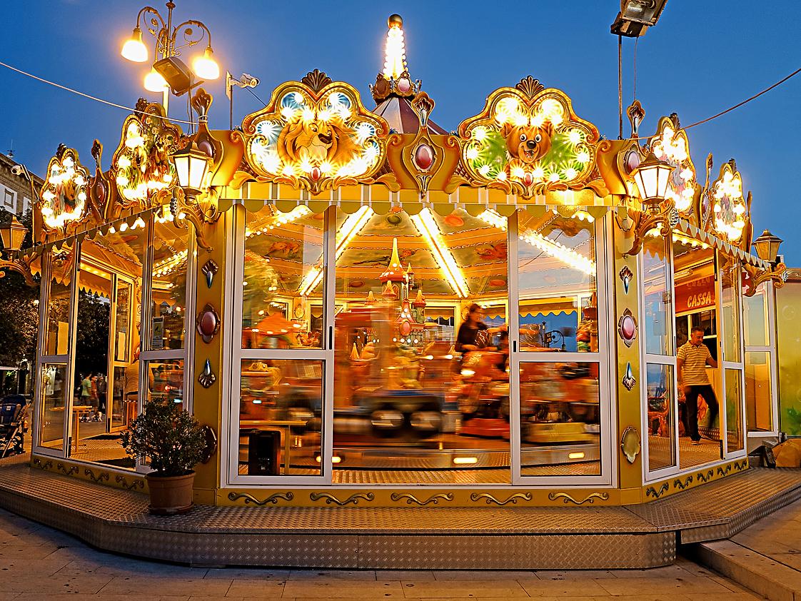 Abendlicht - für die Kinder / La luce di sera - per i bambini