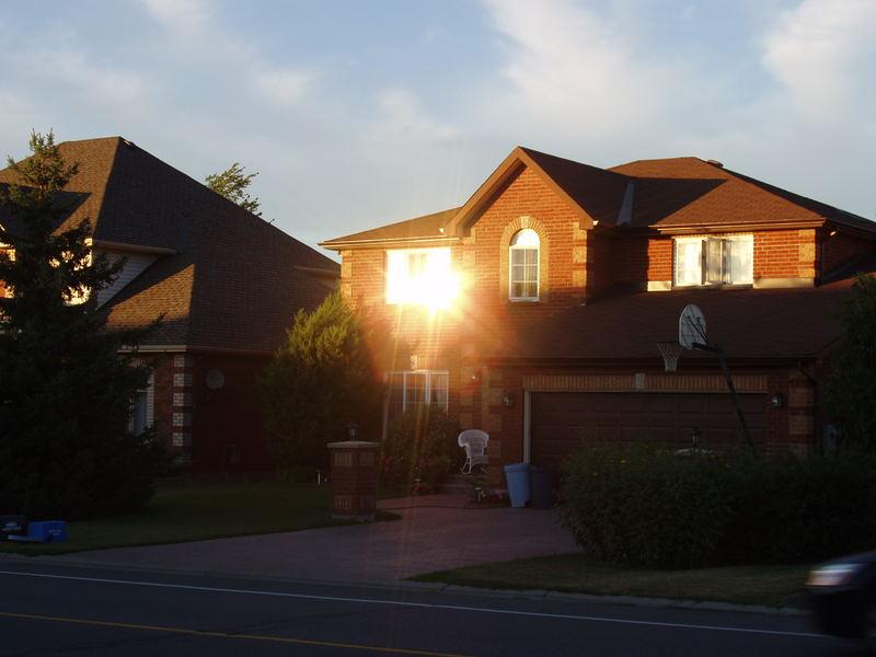 Abendlicht im Knudson Drive