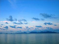Abendlicht im Norden von Ko Samui