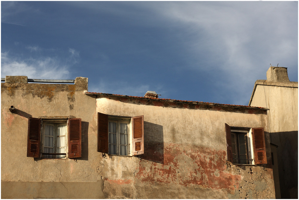 Abendlicht, St. Florent, Korsika