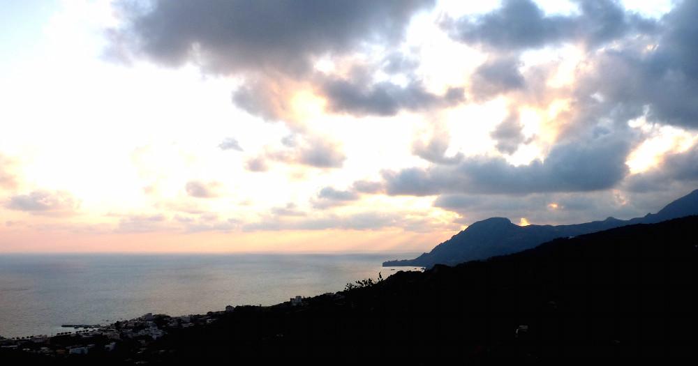 Abendlicht über Kreta