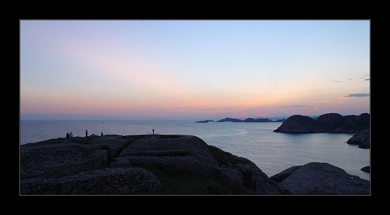 Abendpanorama bei Lindesnes