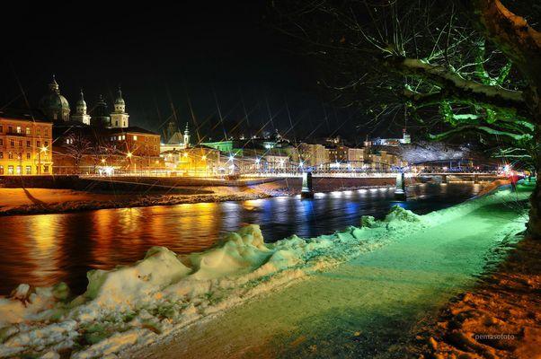 """Abendrendezvous am Fluss"" (Salzburg)"