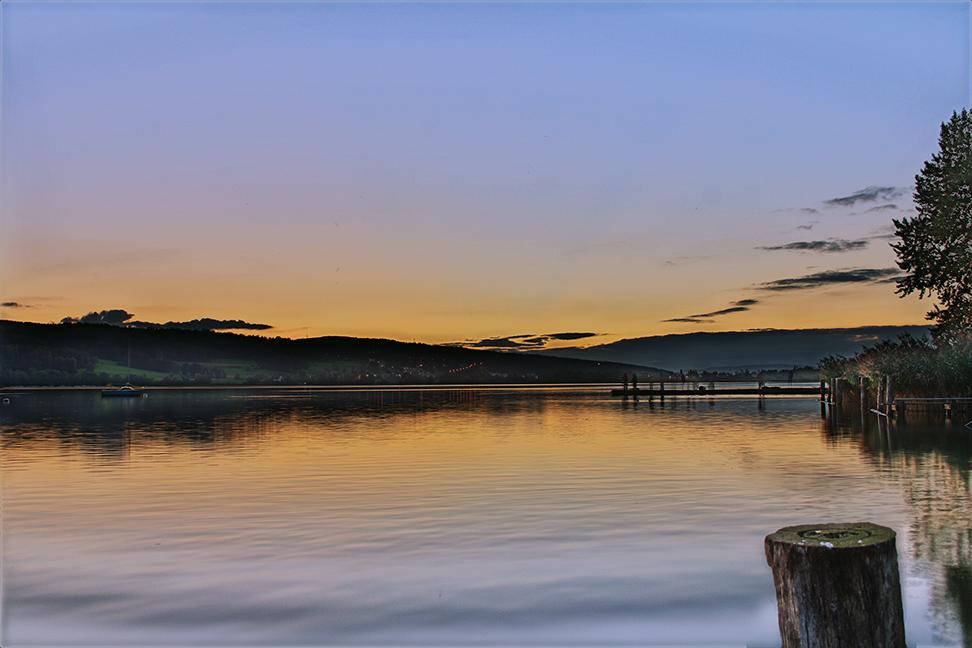 Abendrot am Greifensee