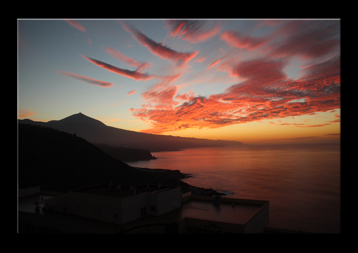 Abendrot am Teide