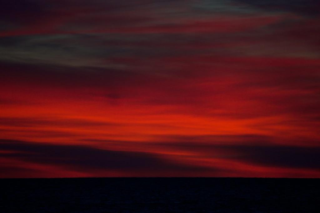 Abendrot nördlich von Bodø