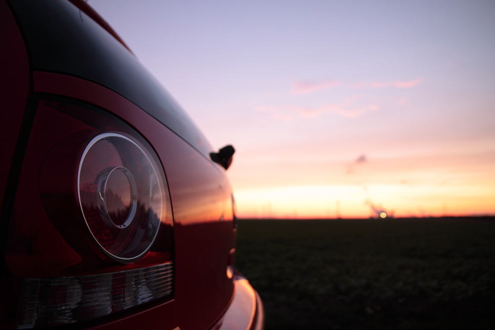 abendroter VW Polo
