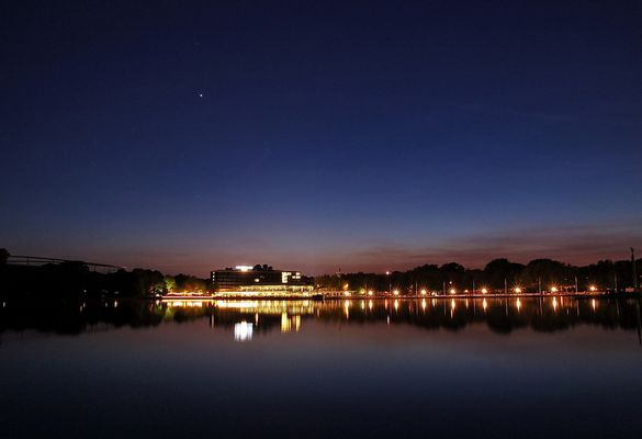 Abendruhe am Maschsee (Hannover)