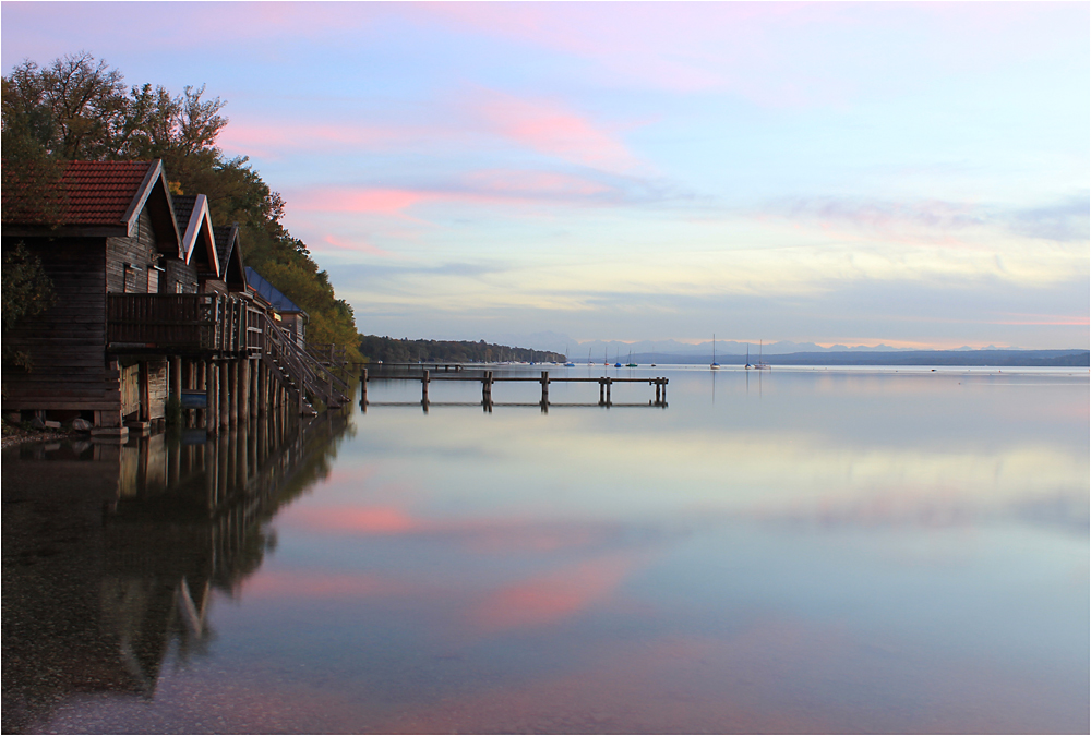 Abends am Ammersee