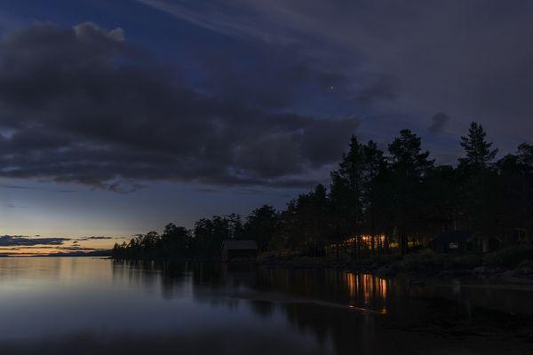 Abends am Femundsee