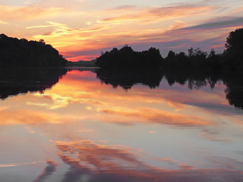 abends am Fluß 3