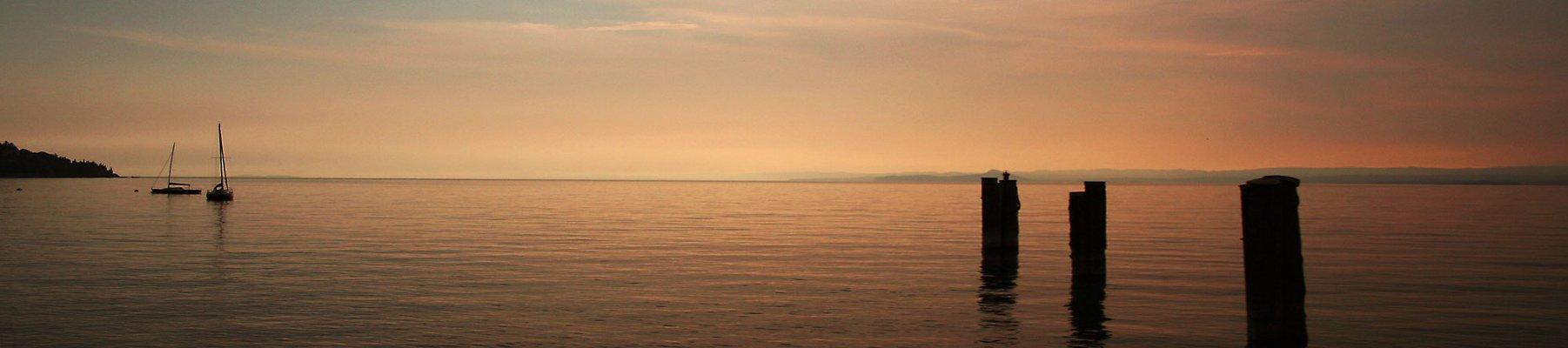 Abends am Gardasee
