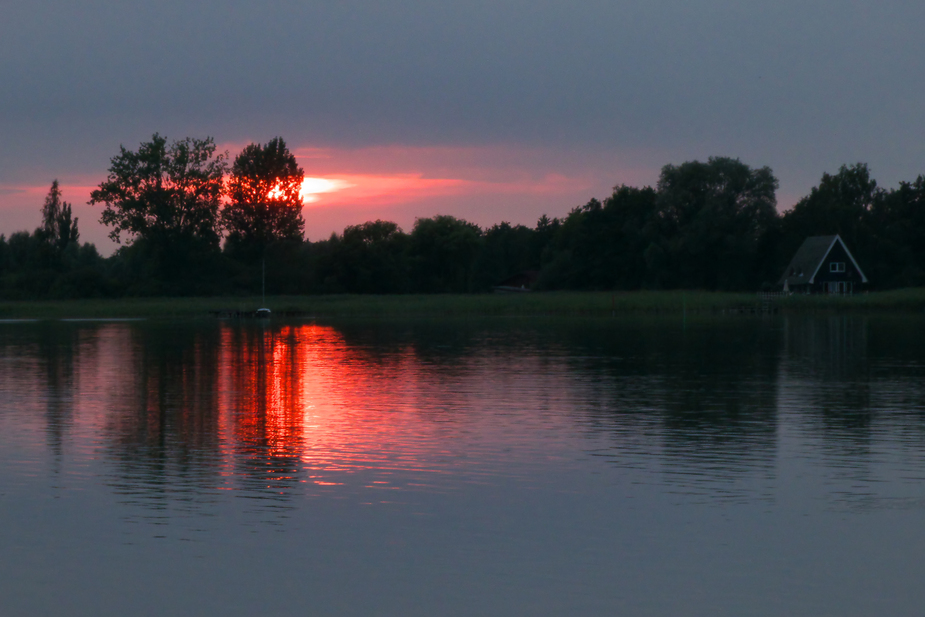 Abends am Inselsee