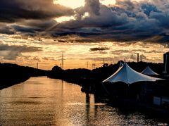 Abends am Kanal