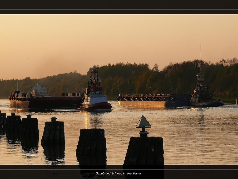 Abends am Kiel Kanal