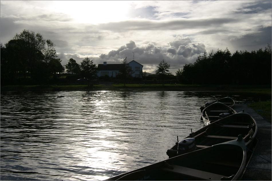 Abends am Lough Corrib