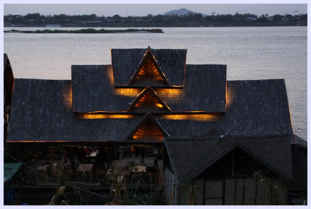 Abends am Mekong
