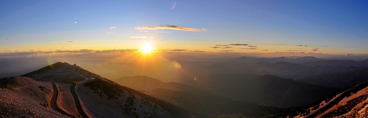 Abends am Mont Ventoux