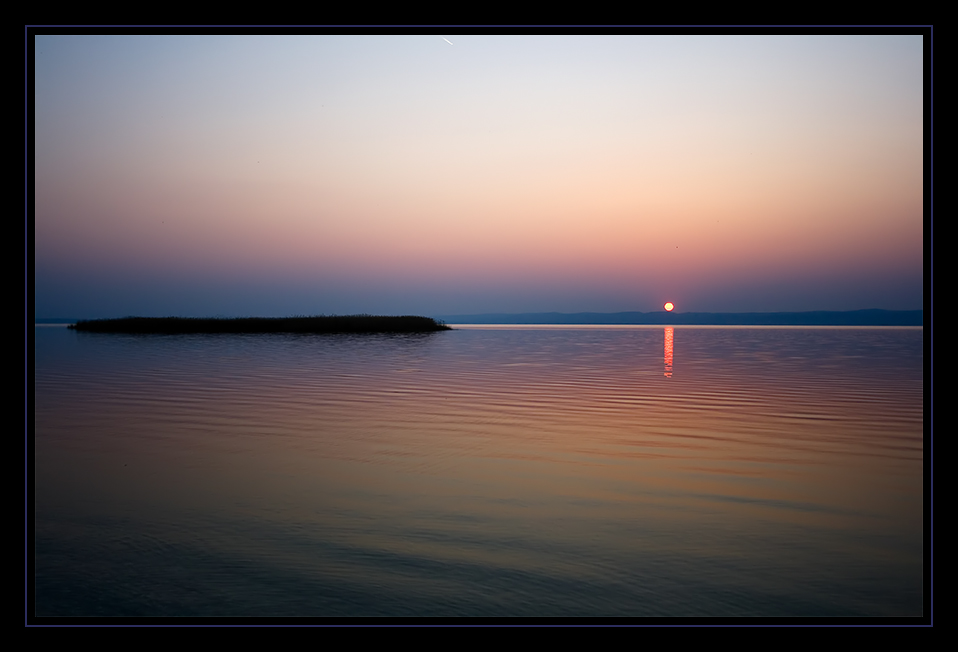 Abends am Neusiedlersee...