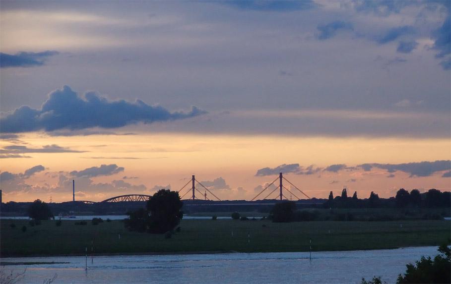 Abends am Niederrhein