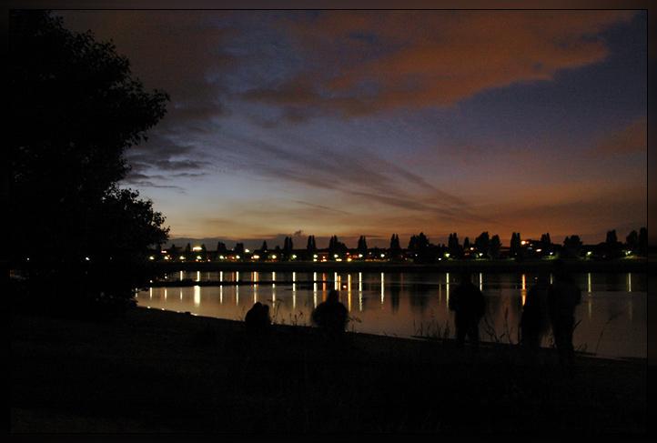 Abends am Rhein...