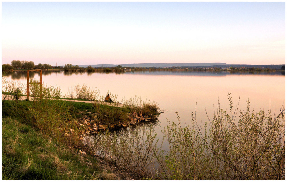 Abend`s am See