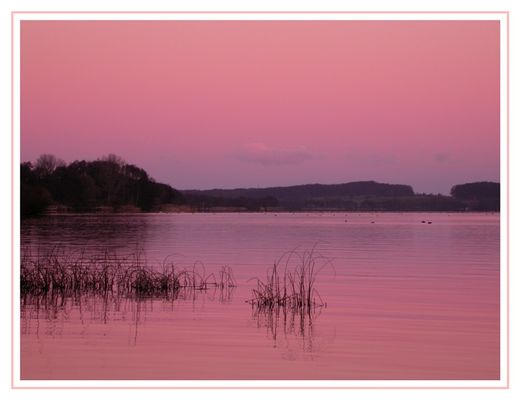 Abends am See