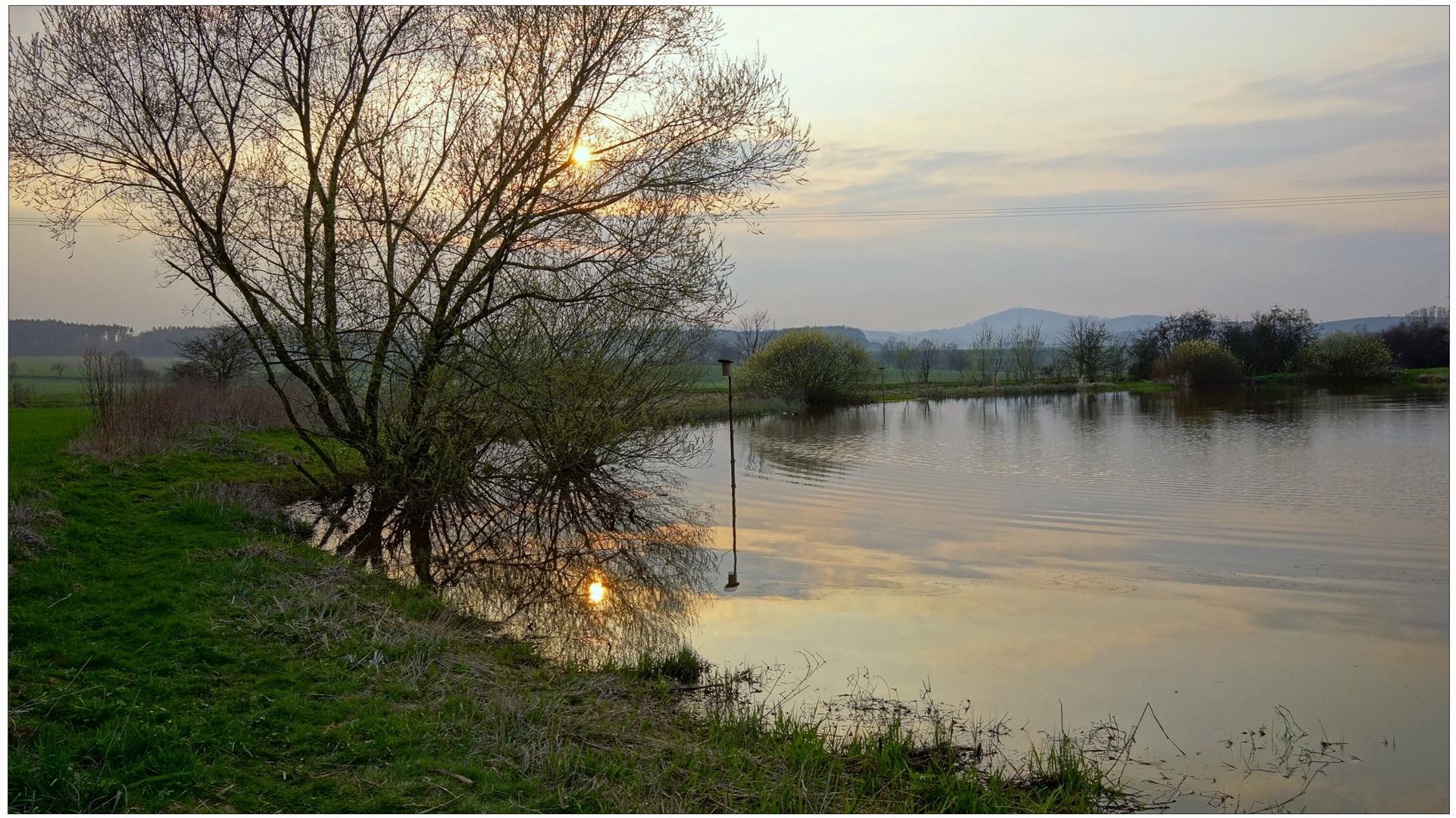 abends am See (por la tarde en el lago)
