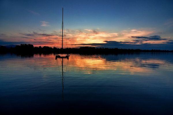 Abends am Staffelsee