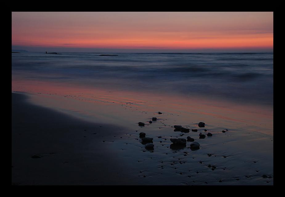 ...abends am Strand...