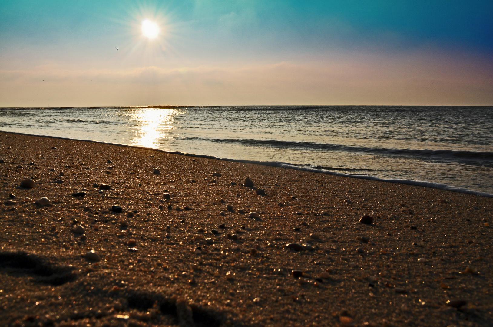 Abends am Strand....