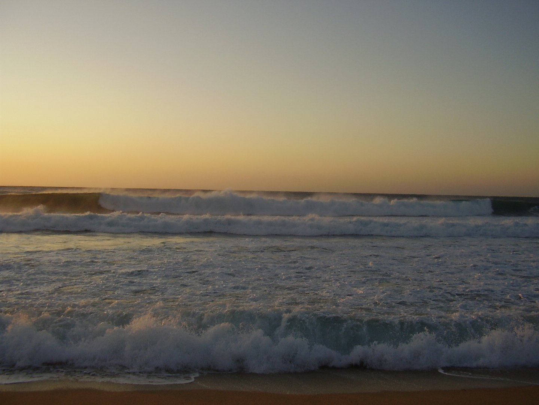 Abends am Strand von Algajola