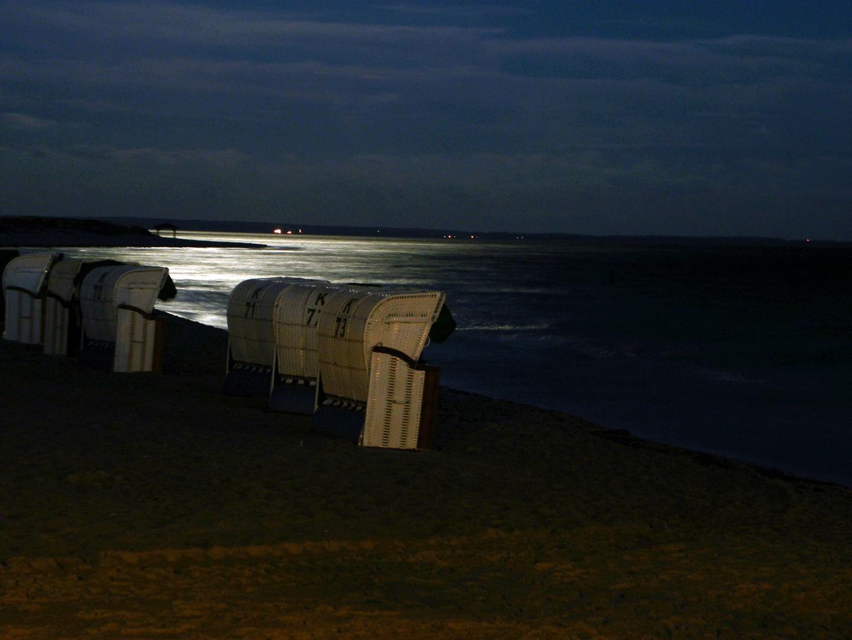 Abends am Strand von Pelzerhaken