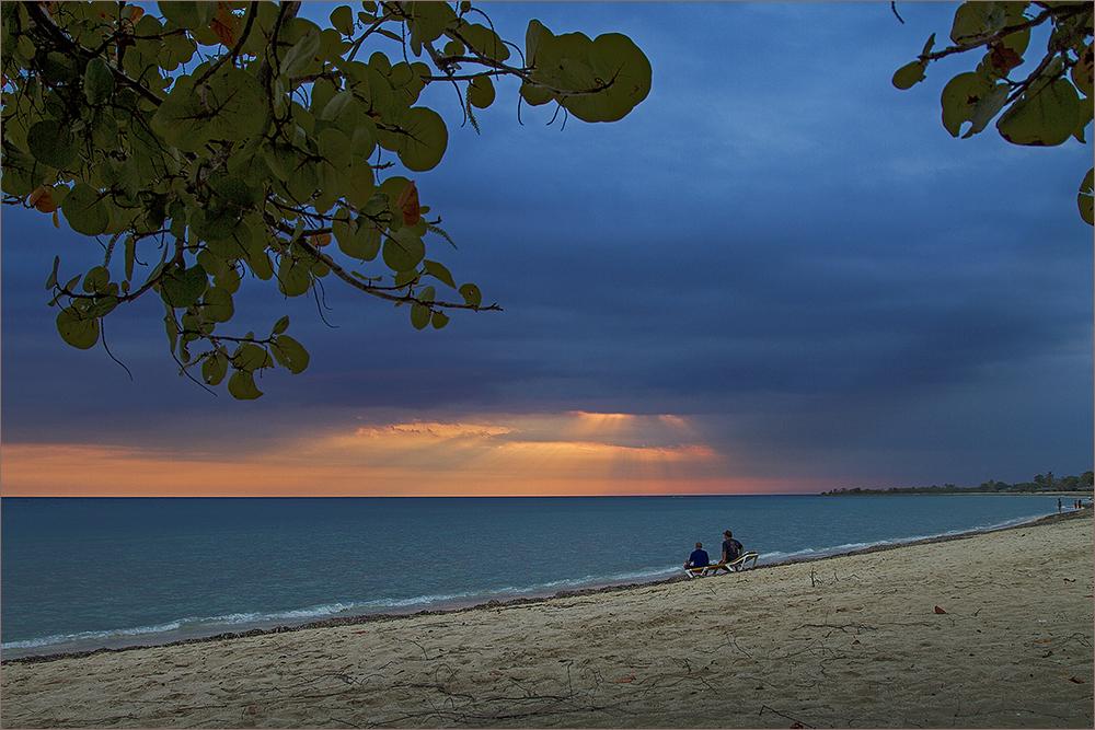 abends am Strand von Trinidad 2
