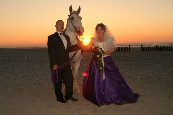 Abends am Strand von Wangerooge...